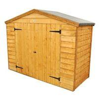 Outdoor Small Storage Overlap Dip Treated Reverse Apex Wood Timber Bike Store 6 39 10 39 39 X 2 39 8